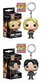 Funko Pocket POP! Attack On Titan: Annie Leonhart + Levi - Vinyl Keychain NEW