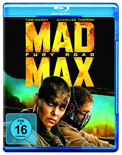 Mad Max: Fury Road [Blu-ray] (Fury Film-dvd)
