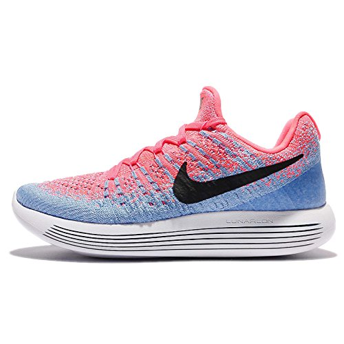 Nike LunarEpic Low Flyknit 2 BRGHT CRMSN/WHITE-BRGHT CTRS-T - 9