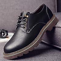 2f8e51d9b9bef LOVDRAM Zapatos De Cuero para Hombre Nuevos Zapatos De Herramientas De Moda para  Hombre Bajo para