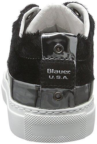 Blauer USA Wocuptoe, Baskets Basses Femme Noir - Noir