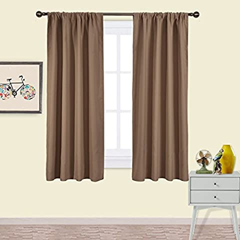 Blackout Curtains Thermal Insulated Panels - PONY DANCE Window Treatments