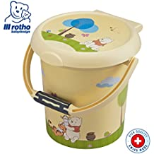 Rotho 20215016575 STyLE - Cubo para pañales con diseño de Winnie the Pooh