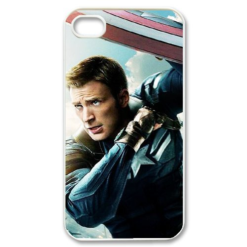 LP-LG Phone Case Of Captain America For Iphone 4/4s [Pattern-6] Pattern-6
