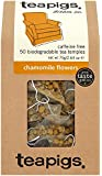 Teapigs Chamomile Flowers 87.5 g (Pack of 1, Total 50 Tea Bags)