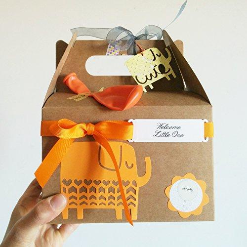 Regalo per Nascita o Battesimo con Cupcake (= Bavaglino TOMMEE TIPPEE + Calzini in Cotone), Spugna Naturale SUAVINEX e un lecca-lecca fatto con dei calzini di Marca | Scatola Regalo Personalizzabile con il Nome del Bebé | Baby Shower Gift Idea | Tono Neutro/UNISEX, per Femminucce o Maschietti