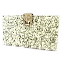 Wallet 'Lollipops'beige lace - 17x10x3 cm (6.69''x3.94''x1.18'').