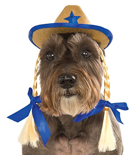 Rubies Costume Company Pet Cowgirl-Hut mit - Party Supplies Cowgirls