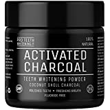 Poudre de blanchiment des dents au charbon actif ( activated charcoal teeth whitening ) naturel par Pro Teeth Whitening Co | Garantie satisfait ou remboursé à 100 % sans aucune question posée | Fabriqué au Royaume-Uni