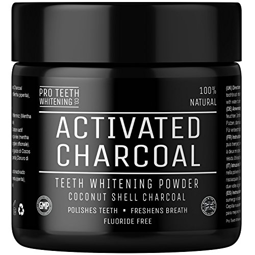Activated Charcoal Natural Teeth Whitening Powder Peppermint Flavour by Pro Teeth Whitening Co | Manufactured in the UK (Peppermint) Test