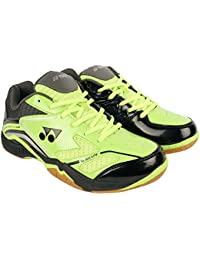 YONEX Gold & Grey Power Cushion Badminton Shoes For Men & Women