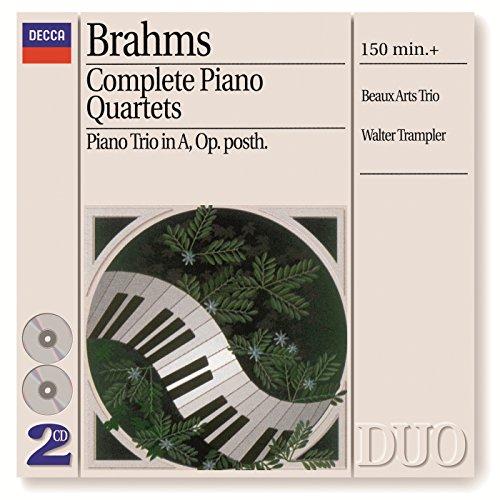 Brahms: Piano Quartet No.3 in C minor, Op.60 - 4. Finale (Allegro)