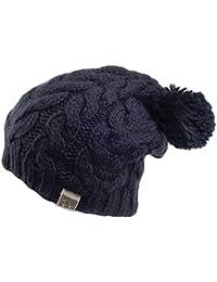 Kusan Hats Oversized Bobble Hat - Navy