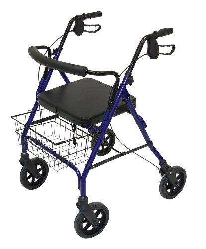 Patterson Medical Rollator, robust XXL Blau