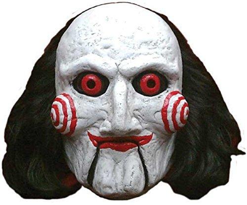 n Deluxe Billy Puppe SAE Gruselig Halloween Horrorfilm Cosplay Konvention Kostüm Kleid Outfit Maske (Gruselige Puppe Kostüme Für Halloween)