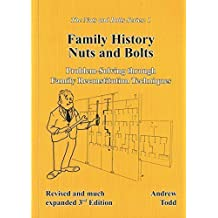 Family History Nuts and Bolts; Problem-Solving through Family Reconstitution Techniques