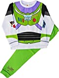 Buzz Lightyear Pijama Novedad Disfraz Toy Story Conjunto Pijama - blanco, Verde, 4-5 Years