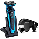 2017 New : Men's Face Grooming Kit Electric Shaver Rechargeable Beard Shaving Machine Multifunctional Electric...