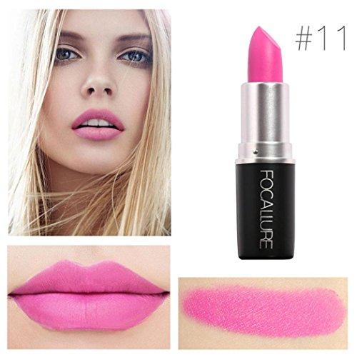 Yogogo - Rouge à lèvres - Nouveau Cosmétiques Mode Métalliquepour maquillage beauté longue durée 11#