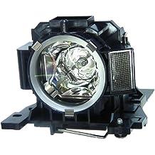 V7 Projektor Beamer Ersatzlampe VPL1789-1E  ersetzt DT00891 für Hitachi CPA100 / EDA100 / EDA110 + 120 Tage Lampen Garantie