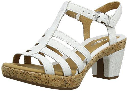 Gabor - Impression, Sandali da donna bianco(White (White Leather))