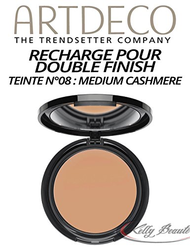 Double Finish Refill, matt, 8, cashmere Kashmir, Cremepuder Make up, Artdeco