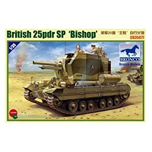 Unbekannt Bronco Models cb35077-Maqueta de Valentine SPG Bishop