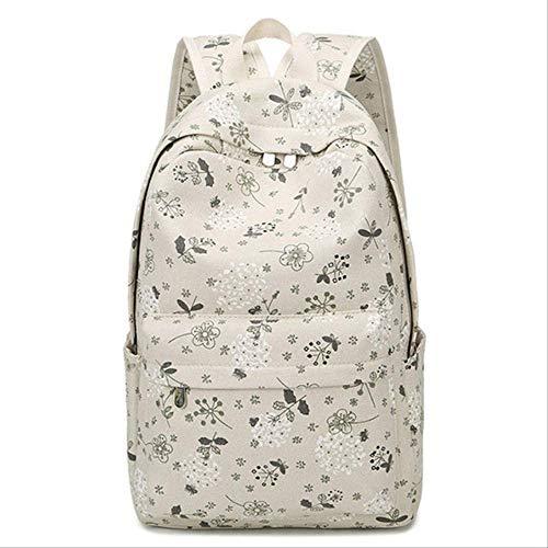 LINADEBAO Marke Leinwand Frauen Rucksack Studenten High Middle School Taschen Für Teenager Mädchen Laptop Reiserucksäcke 4 - Nike Pegasus Frauen 30
