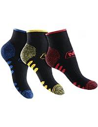 6 Paar Herren Arbeits- und Freizeit Kurzschaft Sneaker Socken m. Frotteesohle