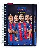 Grupo Erik Editores–Schülerkalender 2017/2018Wochenansicht, Motiv: FC Barcelona-Spieler