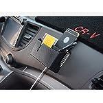 WINOMO-Adesivo-di-auto-Portaoggetti-Organizzatore-Scatola-in-Fiber-di-carbonio-supporto-di-telefono-viaggio-nero-Mini-pattumiera-Can-Contenitore-per-Auto-Taglia-Grande