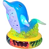 ElectroBot Happy Dolphin With Flashing Lights And Music, Bump N Go, Projection For Kids(Multi Color) For Kids