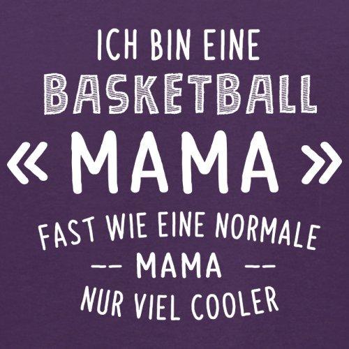 Ich bin eine Basketball Mama - Herren T-Shirt - 13 Farben Lila