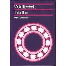 Metalltechnik Tabellen