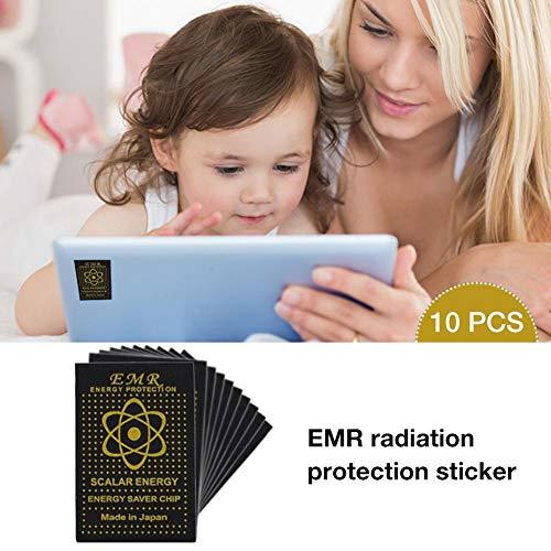 Escudo de protección EMF de 10 piezas
