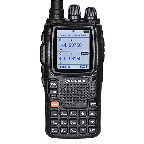 WOUXUN KG-UV9D plus Walkie Talkie Ricetrasmettitore 5W 999 Canali VHF / UHF 136-174 / 400-480 MHz Portatile FM Doppia Banda Doppia Frequenza Ricetrasmittente (2 pezzi)