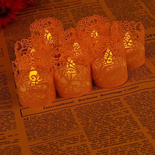 50 tück Led Papier Oder Votivkerze Kerze Halter Deko Motiv Papier Wrapper Kerzenhalter Deko Motiv Papier Wrapper Kerzenhalter Teelichthalter