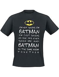 Batman Mystery Camiseta Negro