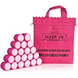 Sleep-In Rollers Mega Bounce Rollers X 20 Plus Drawstring Bag