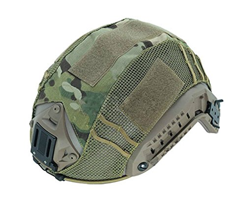 c295d493b4fd4 Haoyk Tactical paintball Hunting shooting Gear Combat marittima camouflage  Helmet cover Multicam