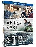 La 5e vague + After Earth + 2012 [Blu-ray + Copie digitale] [Import italien]