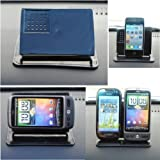 Mobilizers: Non-Slip Smart Stand Car Dashboard Holder With 360 Degree Rotation Feature For All New Models Including Nokia C2, C3, C5, C6, C7, E5, E6, E7, Lumia 610, Lumia 710, Lumia 800, Lumia 900, Lumia 920, N8, N95, N96, N97, N97 Mini, X2, X3, X5, X6, X7