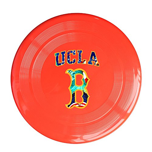 UCLA College aolm Traditioneller Maler Outdoor Spiel Frisbee Light Flying gelb, unisex, rot