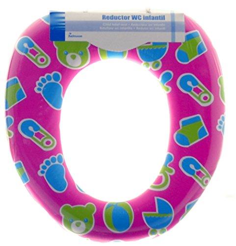 AR Reductor WC con Acolchado Infantil, Estampado, 6.0x26x29 cm