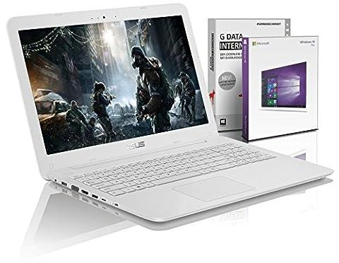 Asus i7 Gaming (15,6 Zoll Full-HD) Notebook (Intel Core i7 6500U, 8GB DDR4-RAM, 1000GB, NVIDIA GeForce 940MX 2GB, HDMI, Win 10 Professional)