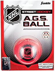 Franklin Streethockey Ball AGS Super High Density, rot, 12219