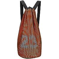 Black Temptation Bolsa de Baloncesto, Paquete de Entrenamiento, Bolsa de Red de Baloncesto, Mochila con cordón, F2
