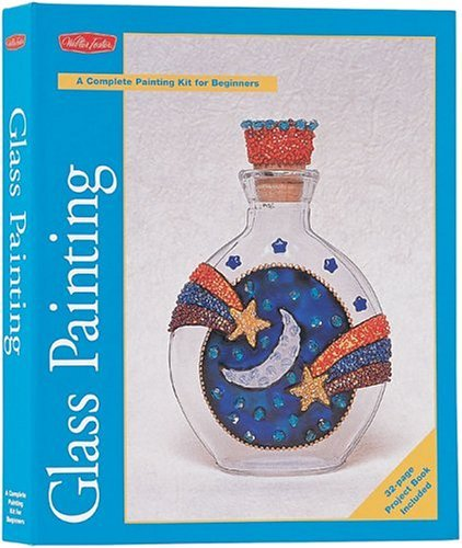 Glass Painting Kit: A Complete Kit for Beginning Artists by Walter Foster (2003-12-02)
