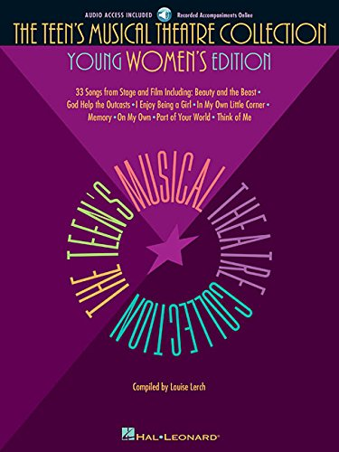 THE TEENS MUSICAL THEATRE COLLECTION YOUNG WOMENS EDITION BK/AUDIO Bk-audio