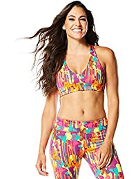 Zumba Fitness Amazon Sizzle Soutien-Gorge Femme